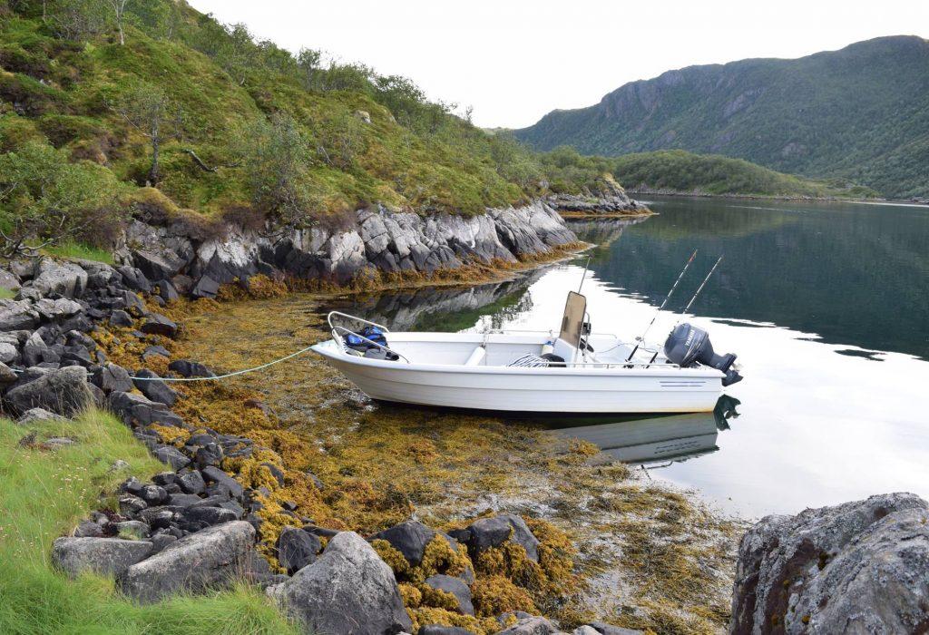 Båt kan leies